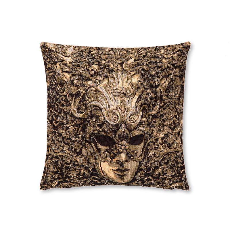 """比利时 GK-ART 织锦靠枕套抱枕套"""" 威尼斯面具"""""""
